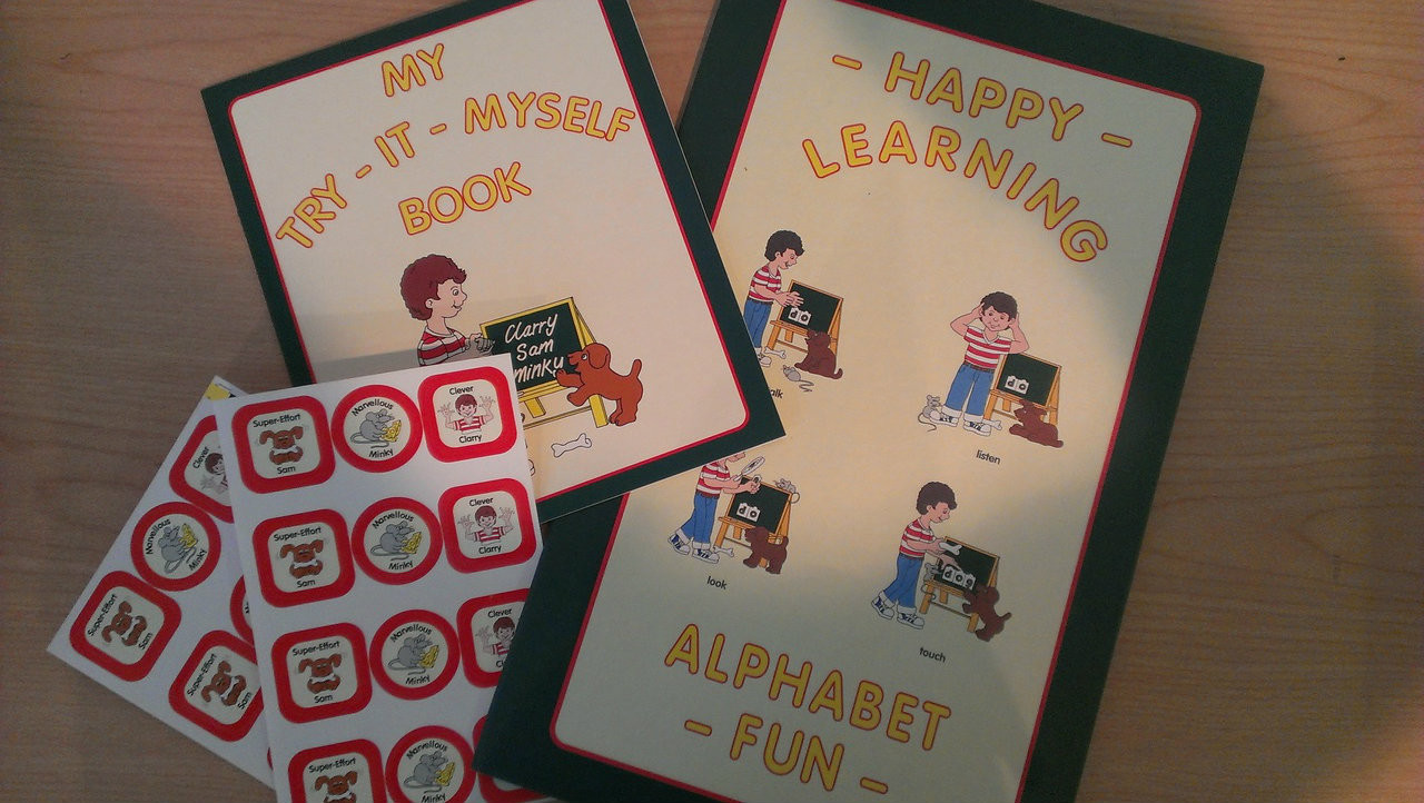 Early Learning Alphabet Folder