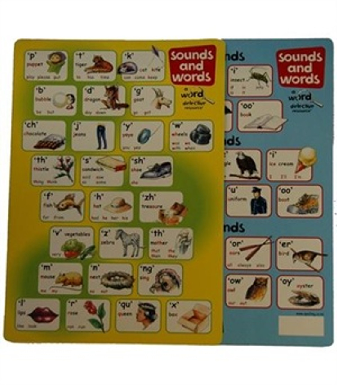 Sounds and Words Card