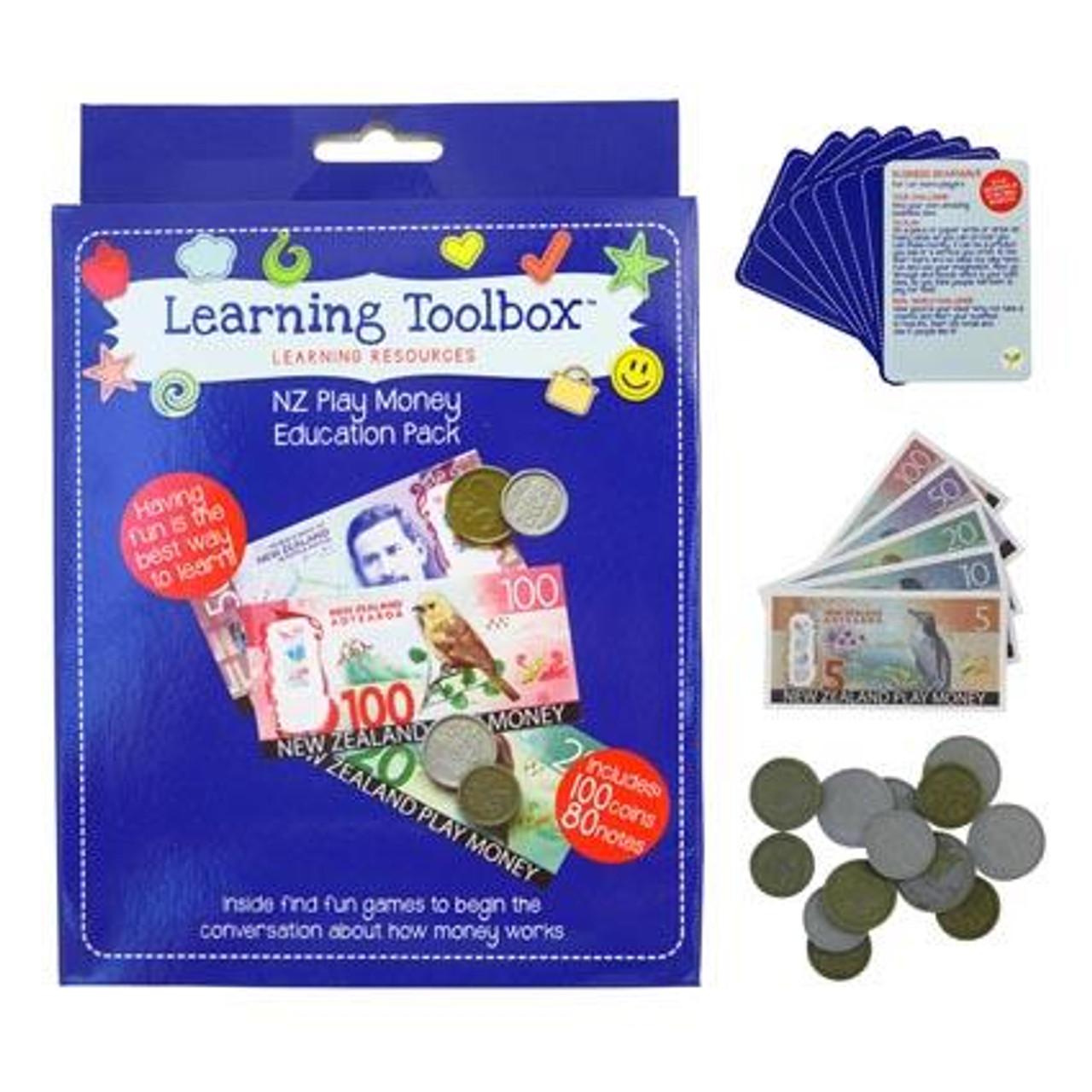New Zealand Play Money pack