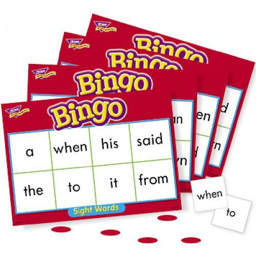 Bingo - Sight Words Level 1