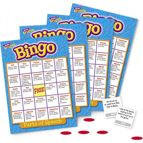 Bingo - Parts of Speech