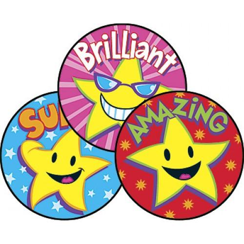 Scratch 'n Sniff Stickers - Superstars