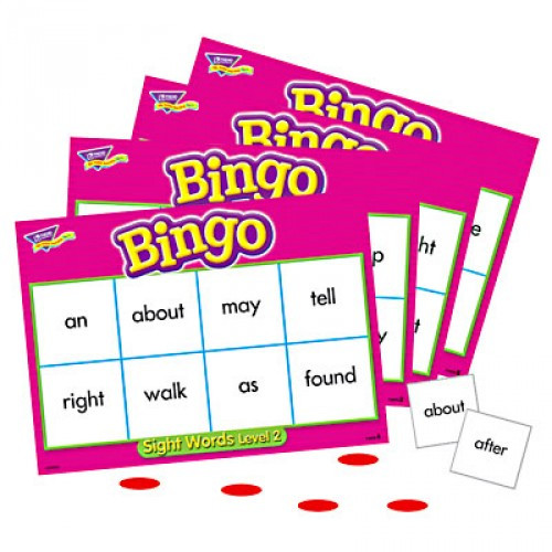 Bingo - Sight Words Level 2