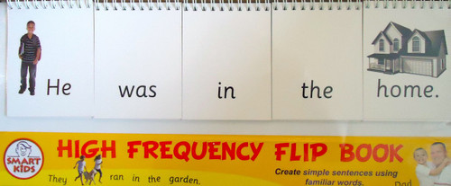 High frequency word flip stand