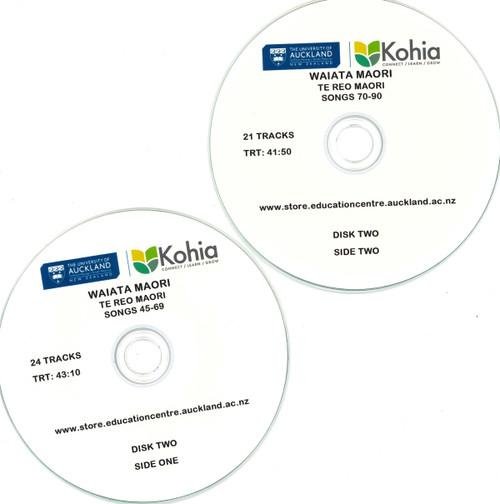 Waiata Maori - CD Set 2, Songs 45-90  (Exclusive to Kohia)