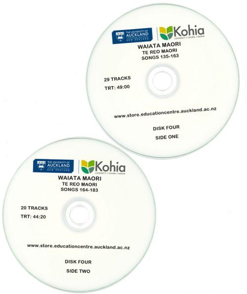 Waiata Maori - CD Set 4, Songs 135-183 (Exclusive to Kohia)