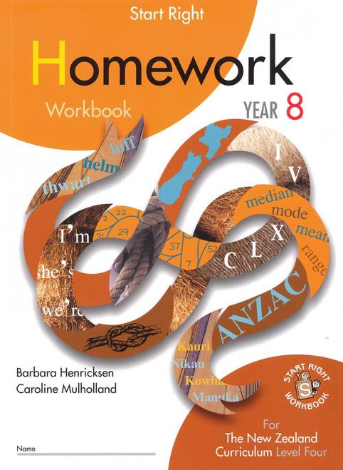 Start Right Homework Workbook Year 8
