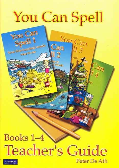 You Can Spell Teacher's Guide: Books 1-4