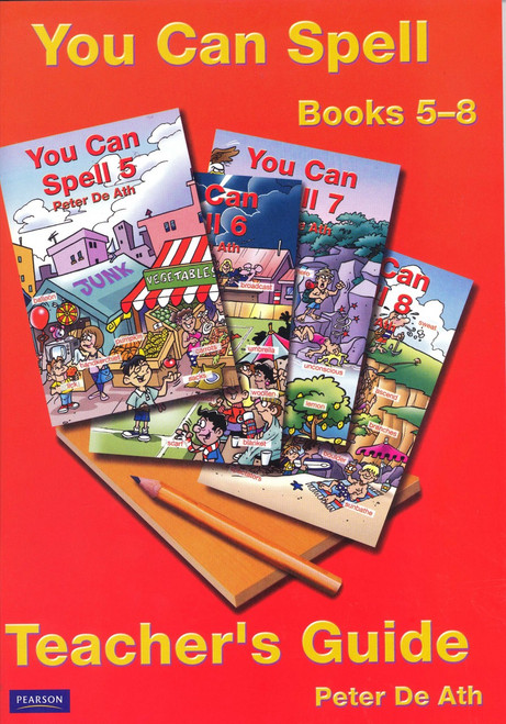 You Can Spell Teacher's Guide: Books 5-8