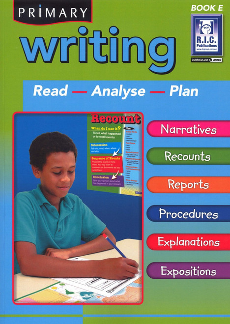 Writing Book E for Ages 9-10 (NZ)