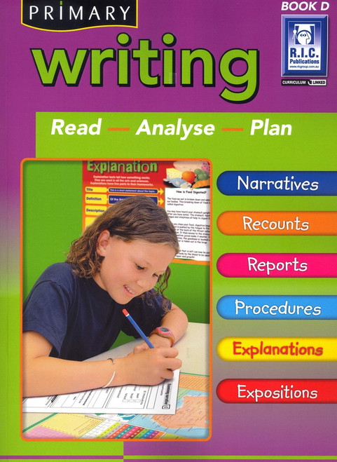 Writing Book D for Ages 8-9 (NZ)
