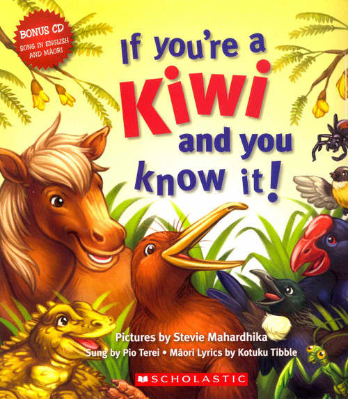 If you're a Kiwi and you know it ! Book and CD