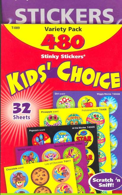 Stinky Stickers - Kids Choice 480 stickers