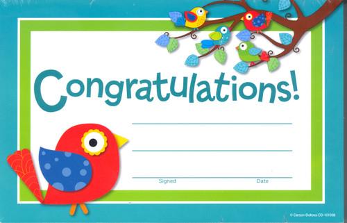 Boho Congratulations Awards - 30 pieces