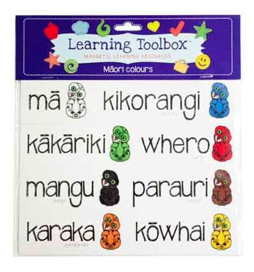 Magnetic Maori Colours