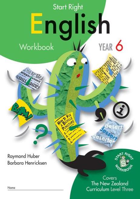 Yr 6 English Start Right Workbook