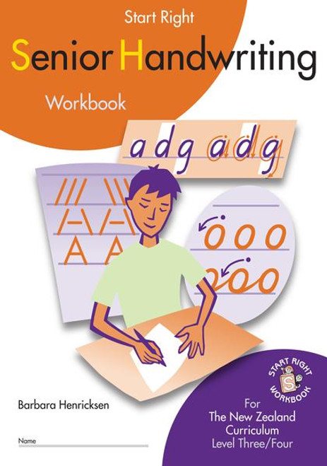 Senior Handwriting for the NZ curriculum