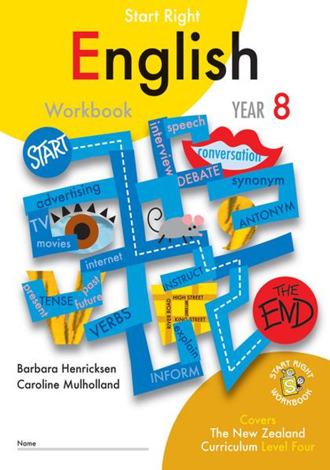 Start Right Year 8 English Workbook