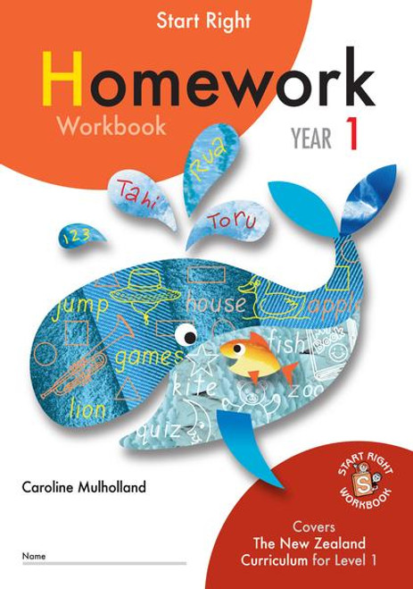 Start Right Year 1 Homework Workbook