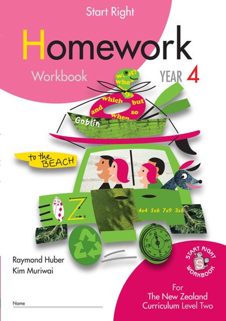 Start Right Year 4 Homework Workbook