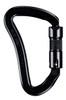 SMC Crossover Tri Lock Carabiner Black