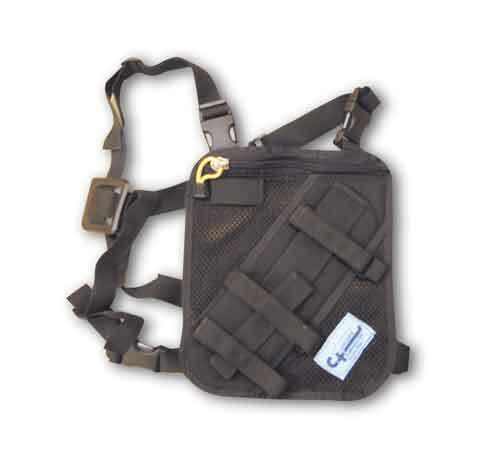Cascade Rescue Deluxe Mesh Radio Harness