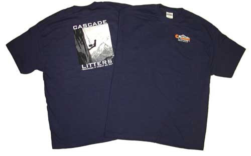 """Cascade Rescue """"Because It Might Be Me"""" T-Shirt"""