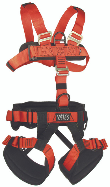 Yates Padded Full Body Harness