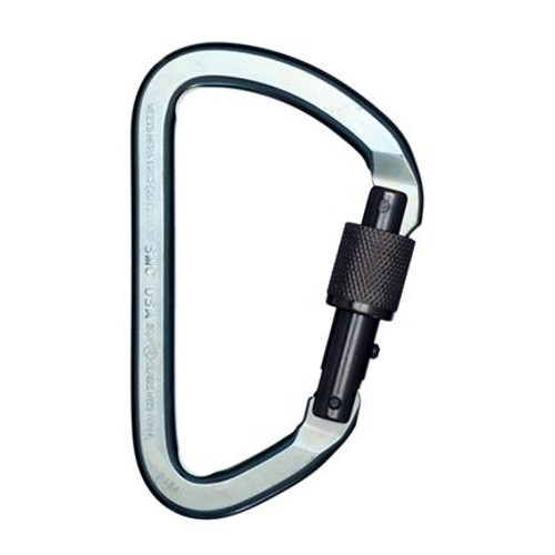 SMC Lite Alloy Steel Zinc Plated Lock Carabiner (Bright)
