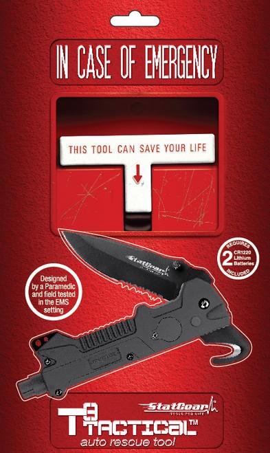 StatGear T3 Tactical Auto Rescue Tool