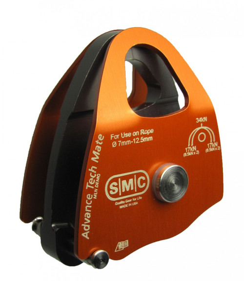 SMC Advance Tech Mate Double Anodized Aluminum Pulley