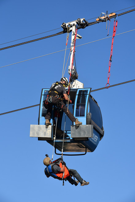 Elevated Safety Lift / Gondola Evacuation Training