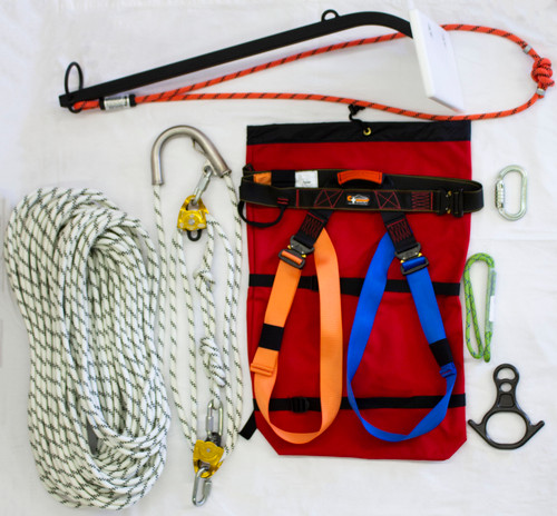 Advanced Lift Evacuation Kit with Rescue 8 and Prussic