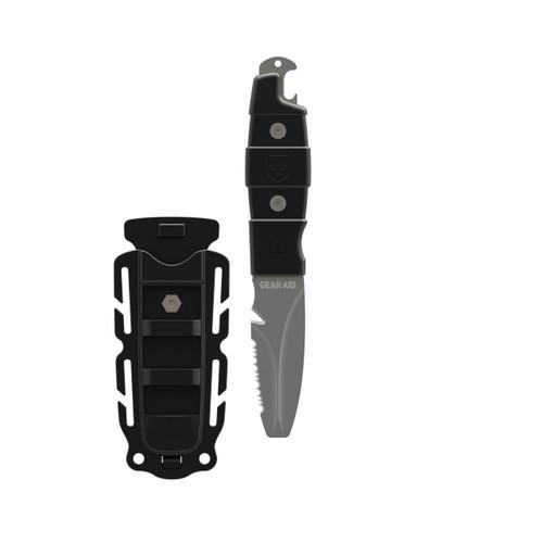 AKUA Rescue and Dive Knife (Black)