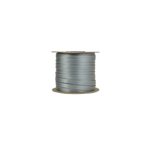 """11/16"""" Tubular Webbing (Silver)"""