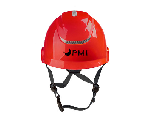 The PMI Air-Go Helmet is ANSI, CSA, and CE certified. The helmet features a comfortable, versatile design at a