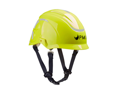 The PMI E-Go Helmet is designed to help protect workers who may be exposed to high voltage environments.