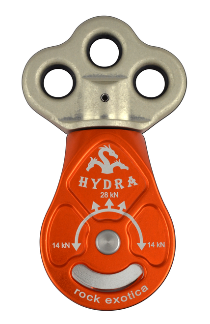 Hydra Triple Attachment Pulley