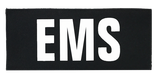 """SBT Banshee 3""""x7"""" EMS Chest Patch with Hook Back White on Black"""