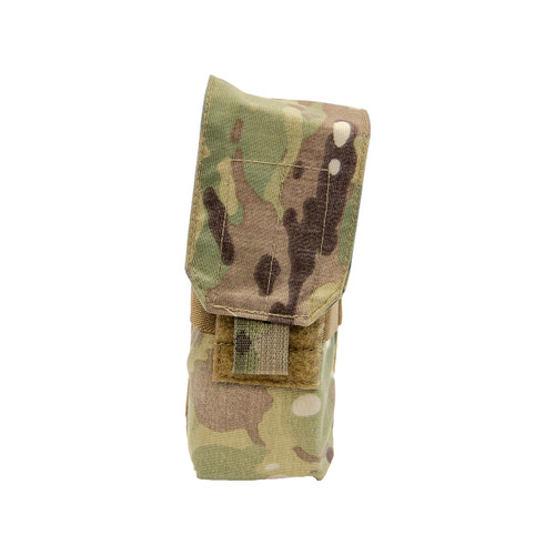 Shellback Tactical Single Stacker M4 Mag Pouch Multicam Front
