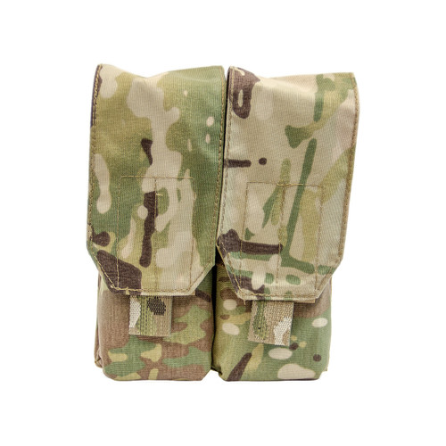 Shellback Tactical Double Stacker M4 Mag Pouch Multicam Front