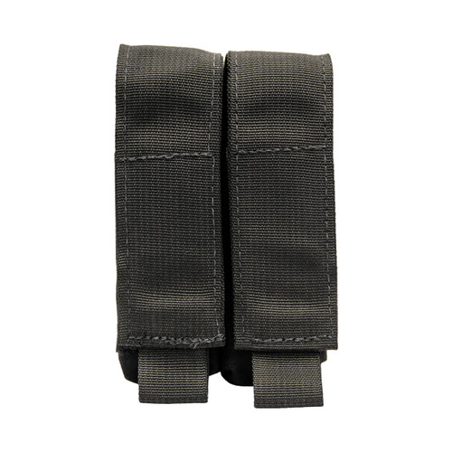 Shellback Tactical Double Pistol Mag Pouch Black Front