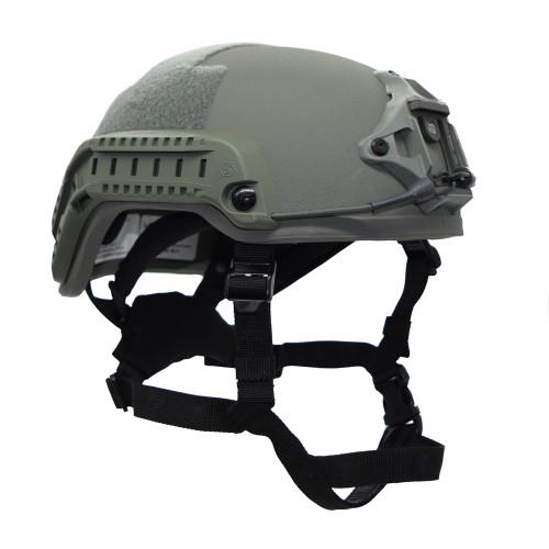 Shellback Tactical Level IIIA Ballistic High Cut SF ACH Helmet Foliage Green