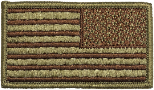 Shellback Tactical Air Force OCP Reverse Flag Patch
