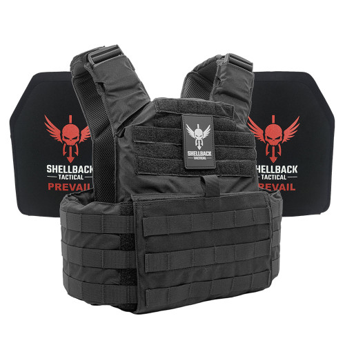 Shellback Tactical Skirmish Active Shooter Kit with Level IV 1155 Plates Black