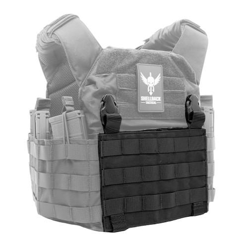 Shellback Tactical Molle Clip Placard Black