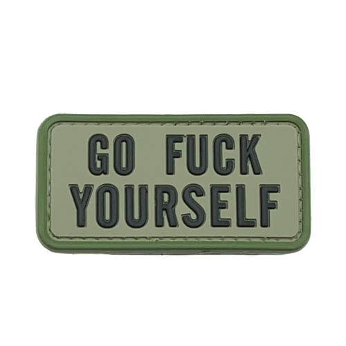 Shellback Tactical Go Fuck Yourself PVC Patch
