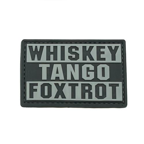 Shellback Tactical Whiskey Tango Foxtrot PVC Patch