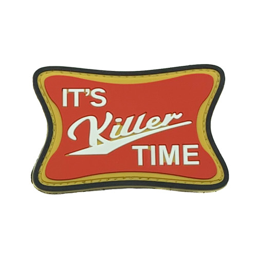 Shellback Tactical Killer Time PVC Patch