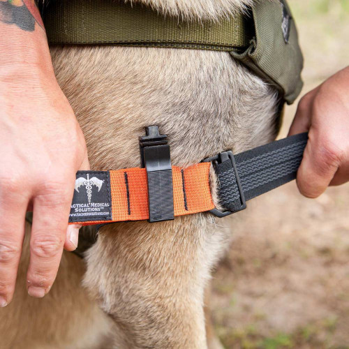Tactical Medical Solutions K9 Tourniquet In Use